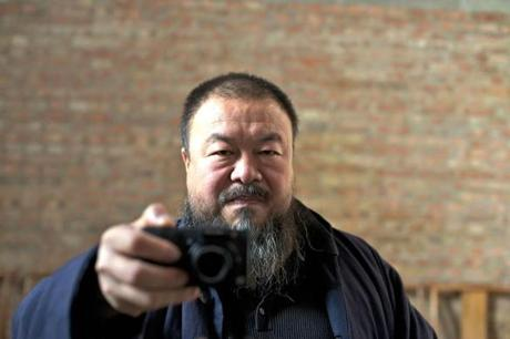 "Chinese artist Ai Weiwei is the subject of Alison Klayman's documentary ""Ai Weiwei: Never Sorry.''"